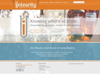 Integrity website